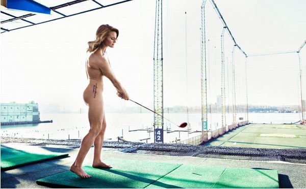 Carly Booth - Golfer