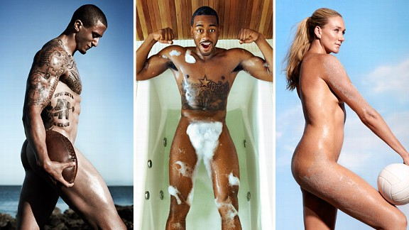 Colin Kaepernick, John Wall, and Kerri Walsh Jennings